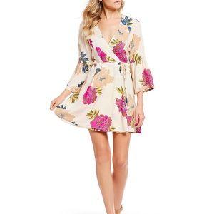 Billabong Women's Pink Divine Floral Dress